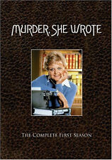 Murder She Wrote - The Complete First Season (DVD, 2005, 3-Disc Set) BRAND NEW!
