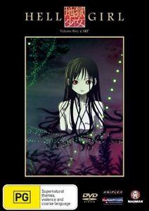Hell Girl : Vol 5 (DVD, 2008) NEW SEALED MADMAN