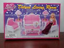 Gloria,Barbie Doll furniture/(2317)My Fancy Life Deluxe Living Room