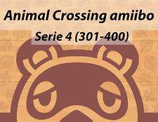 amiibo Animal Crossing Cards Serie 4 | Per scegliere | Versione UE | (301-400)