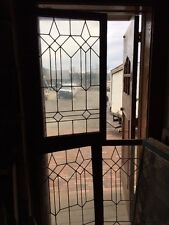 Sg 1127 3Available Price Each Leaded Glass Window Or Cabinet Door 24 X 42