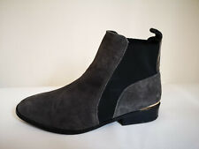 Womens Leather  SUEDE Ankle Boots Size UK 7 RIVERISLAND