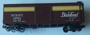 O Scale 3-Rail Weaver NC & ST. L Railroad 40' Box Car USED NO BOX