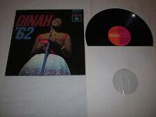 DINAH WASHINGTON - DINAH '62 / USED VINYL LP / 1962 ROULETTE SR 25170