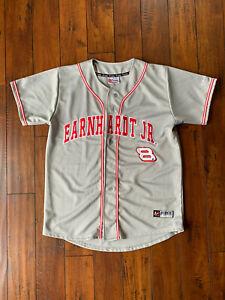 Men's Vintage Chase Authentics Dale Earnhardt Jr. Baseball Jersey #8 Large