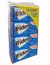 Trident Original Flavor 14 Club Pack 252 Sticks Gum Bursting With More Flavor