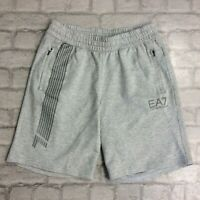 EMPORIO ARMANI EA7 MENS UK M GREY 7LINES SHORTS ACTIVE SPORTSWEAR CASUAL SUMMER
