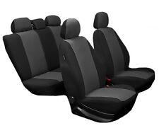 Sitzbezüge Komplettset für Mercedes-Benz E-Klasse NO314694 schwarz-grau