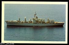 USS White Plains AFS-4 postcard combat stores ship US Navy (card #2)