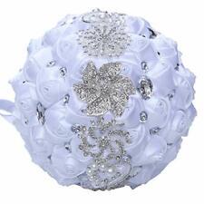 Wjyikee Handmade Romantic Wedding Bouquet Bridal Holding Bouquets Bride Bridesma