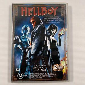 Hellboy Special Edition (DVD 2004 2 disc-set) Ron Perlman Selma Blair Region 4