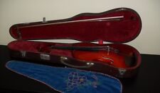 Beautiful vintage 4/4 full size violin and bow by Paul Mangenot Mirecourt FRANCE