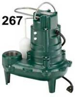 Zoeller 267-0001  1/2 HP Automatic Submersible Sewage and Effluent Pump