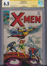 X-MEN #49 CGC 6.5 SS SIGNED STERANKO 1ST APPEARANCE POLARIS STERANKO COVER 1968