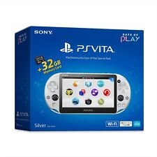 PlayStation Vita Days Of Play Special Pack Silver 32GB Memory Card From japan