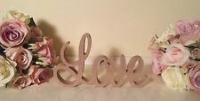 """LOVE"" MDF Wooden Letters gift, wedding, birthday wood sign decoration"