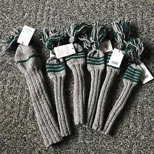 Set Of 6 NWT Jan Craig Wool Golf Club Head Covers