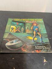 Thundercats Adventure Lion-O Walks the Plank Vintage Book