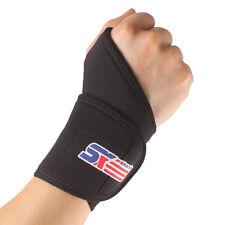 Hand Palm Wrist Brace Splint Elastic Thumb Wrap Help relieve pain arthritis
