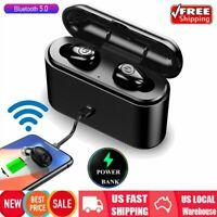 Waterproof Bluetooth 5.0 Earbuds Headphones Wireless Headset Noise Cancelling