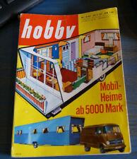hobby 8/62, MOBILHEIME, VOLVO P1800, Weltausstellung SEATTLE 62