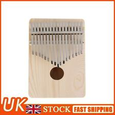More details for 17 key kalimba thumb finger piano wooden musical instruments for beginners