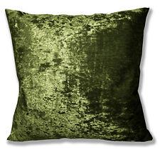 Mv12a Olive Lime Diamond Crushed Velvet Cushion Cover/Pillow Case Custom Size