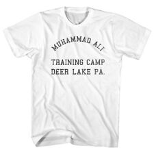 Muhammad Ali Training Camp Deer Lake Men's T Shirt Vintage Boxing Legend Champ