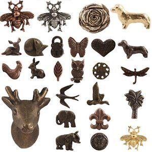 METAL IRON Door Knob OVER 30 HANDLES Cabinet Drawer Pulls Antique Industrial