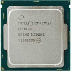 OEM Intel Core i3 i3-6100 3.70 Ghz Dual-core Processor LGA 1151
