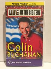COLIN BUCHANAN ~ LIVE IN THE BIG TENT ~ RARE AS NEW VHS VIDEO