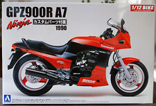 1990 Kawasaki GPZ 900 R A7 Ninja 1:12 Aoshima 54543