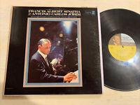 Francis Albert Frank Sinatra & Antonio Carlos Jobim LP Reprise Mono Tricolor VG+