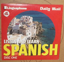 AUDIO CD - LISTEN AND LEARN SPANISH DISC ONE - NEWSPAPER PROMOTION