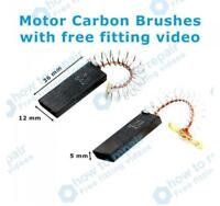 BOSCH Motor Carbon Brushes WAE24162UK/01 WAE24162UK/08 WAE24162UK/10