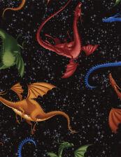 Fabric 100% Cotton Timeless Treasures Dragons C2709