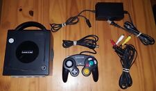 NINTENDO GAMECUBE Console DOL- 001 (USA) Black  controller TESTED Works