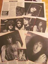 Paul Stanley, Kiss, Six Page Vintage Clipping
