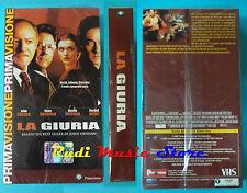 VHS film LA GIURIA Cusack Hoffman Weisz SIGILLATA Grisham PANORAMA (F77) no dvd