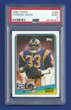1988 TOPPS ALL PRO #289 CHARLES WHITE PSA 9 MINT POP 5 LOS ANGELES RAMS