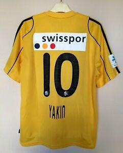 FC LUZERN 2010/2011 AWAY FOOTBALL SHIRT SWITZERLAND JERSEY FUßBALL TRIKOT YAKIN