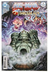 He-Man ThunderCats 5 1st print DC Comics 2017 Thunder Cats Masters Universe MOTU