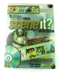 NEW Scene It DVD Game Turner Classic Movies Edition Game Pack