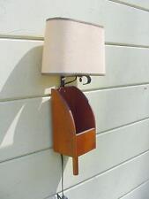 Antique Grain Scoop Lamp – New Hampshire Farm Made ~ Beautiful Patina