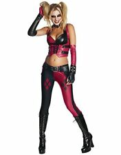 Harley Quinn Costume, Womens Arkham City Harley Quinn Outfit, Small, USA 2 - 6,
