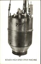 Industrial Equipment Adv Garwood NJ Bowen Engineering Real Photo Postcard #2