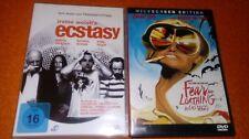 2 DVDs :  Ecstasy & Fear and Loathing in Las Vegas -  Johnny Depp , Billy Boyd