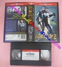 VHS film ROBOCOP 2 1990 Irvin Kershner Peter Weller CECCHI GORI 3420(F74) no dvd