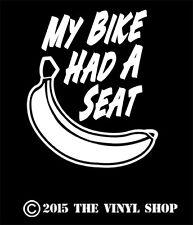 """""""My Bike Had A Banana Seat"""" FITS: ALL 60's & 70's Muscle Bikes Banana seat bikes"""