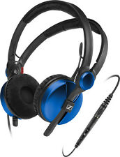Sennheiser Amperior Blue Headphones Detachable Smart Remote for Apple Products